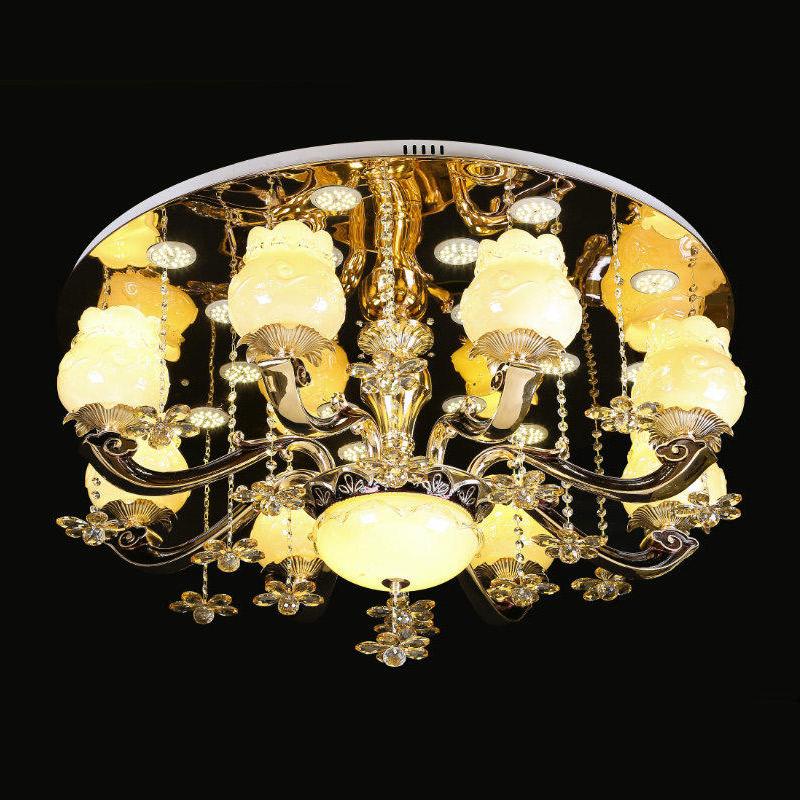 现代水晶灯吸顶灯6753-8